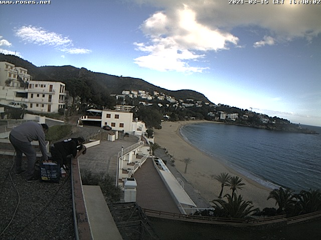 Webcam Platja Almadrava