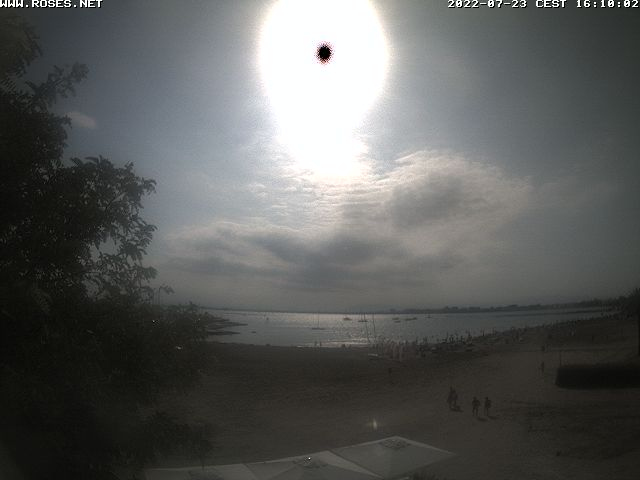 Webcam Puigrom Port Roses - Costa Brava